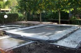 Vlonder, schoeiing en trampoline in Kralingen